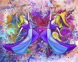 Lady Dance Art Print