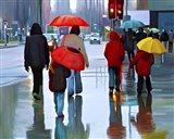 Rainy Street Art Print