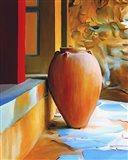 Rustic Vase Art Print