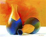 Two Vases Art Print