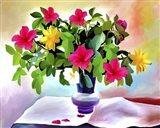 Flowers Colors Art Print
