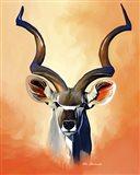 Antelope Head Art Print