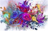 Explosion 5 Art Print