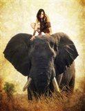 Warrior Girl Art Print