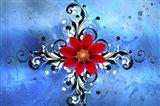 Flower Design 1 Art Print