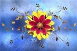 Flower Design 2 Art Print