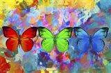 Red, Green & Blue Art Print