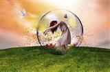 In the bubble Art Print