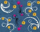 Flower Design 6 Art Print