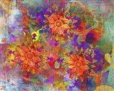Flowers Design A Art Print