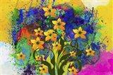 Color Explosion 9 Art Print