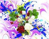 Flower Design 3A Art Print