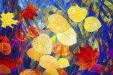 Leaves 225 Art Print