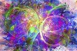 Color Explosion 11 Art Print