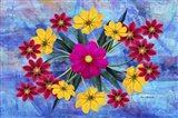 Flower Design 2Mz Art Print