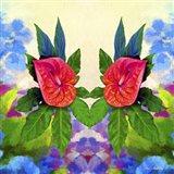 Flower Design 32 Art Print