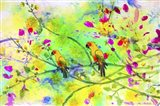 Parrot Forest Art Print