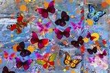Butterflies Season Art Print