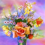 Flower Design 7AB Art Print