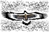 The Black Birds 1 Art Print