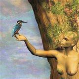 Tree And Bird Art Print