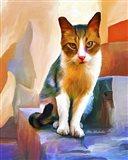 Cat 1A Art Print