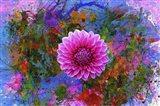 Flower Design 7G Art Print