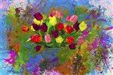 Flower Design 8H Art Print