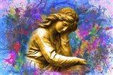 Statue 1B Art Print