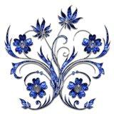3D Flower 1 Art Print