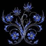 3D Flower 2 Art Print