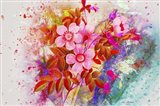 Flower Design K3 Art Print