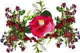 Flower Design K4 Art Print