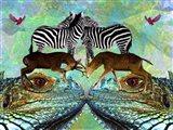 Animal Land 1A Art Print