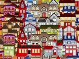 Color City 1A Art Print