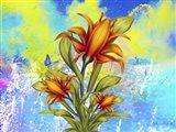 Flowers 9CA Art Print
