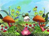 Frogs Queen Art Print