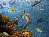 Mermaid Time Art Print