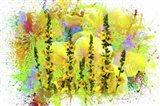 Flowers Explosion SEP1 Art Print