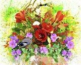 Flowers Explosion SEP5 Art Print