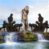 Mother Nature and People Art Print