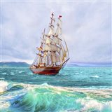 Sailing The Ocean Art Print