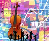 Dance With The Music Art Print