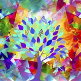 My Colorful Mind 8 Art Print