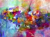 My Colorful Mind 12 Art Print