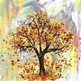 When Tree Get Naked Art Print