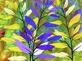 Leaves 1 Art Print