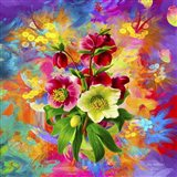 Flowers And Colors 1 Art Print