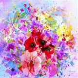 Flowers And Colors 3 Art Print