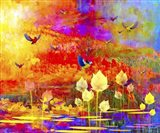 Freebirds Art Print